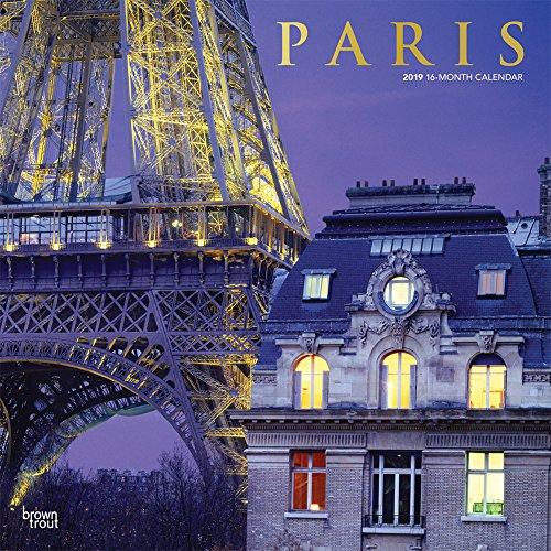 Paris 2019 - 18-Monatskalender mit freier TravelDays-App: Original BrownTrout-Kalender por Inc Browntrout Publishers