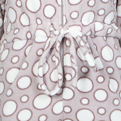 CombinaisonSuper Douce en polaire à capuche Multicolore - Bubbles - Dots