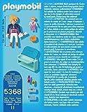 PLAYMOBIL-5368-Mutter-mit-Baby-Wickeltisch