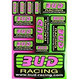 Planche autocollant - BUD Racing - Dirt bike / Pit bike / Mini Moto
