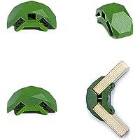 PlayWood, Kit da Costruzione con 4 Connettori Angolari, Morsetti in Plastica con Vite in Acciaio Inox, Ideale per…