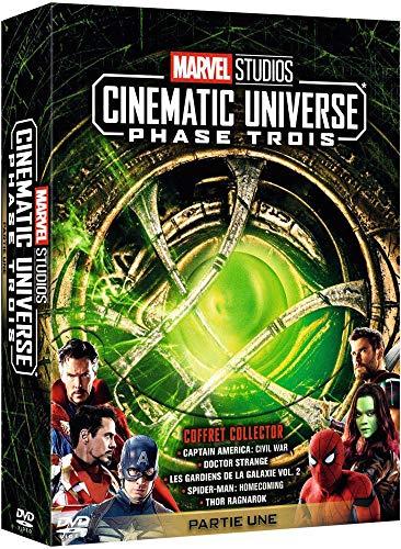 Marvel Studios - Cinematic Universe : Phase Trois - Partie Une [Francia] [DVD]