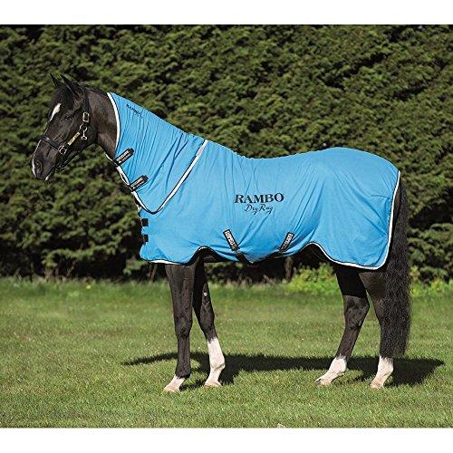 Horseware Rambo Dry Rug Supreme – Blue/Black/White, Groesse:M - 3