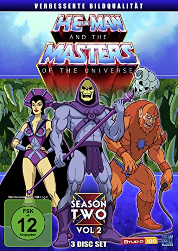 He-Man and the Masters of the Universe - Season 2/Vol. 2 [3 DVDs]