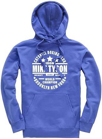 Iron Mike Tyson Catskill Boxing Club Premium Men's Royal Blue Hoodie/Hoody/Hooded Top