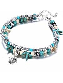 d669292890c56 Bracelets de cheville fantaisie prix mini   Amazon.fr