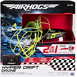 Air Hogs Hyper Drift Drone (2 in 1) Green Hybrid quadcopter - juguetes de control remoto (AAA, 340 g, 304,8 mm, 108 mm, 304,8 mm, 845 g)