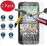 2 Pack - HTC Desire 510 Verre Trempé, Vitre Protection Film de protecteur d'écran Glass Film Tempered Glass Screen Protector Pour HTC Desire 510