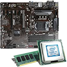 Intel Core i5-8400 / MSI Z370-A Pro / 8GB Mainboard Bundle | CSL PC Aufrüstkit | Intel Core i5-8400 6x 2800 MHz, 8GB DDR4-RAM, Intel UHD Graphics 630, GigLAN, 7.1 Sound, USB 3.1