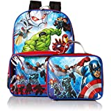 Marvel Boys' Avengers Backpack With Lunch Window Pocket