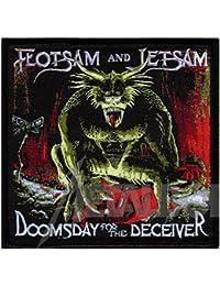 Flotsam & Jetsam–DOOMSDAY for the Guitars DECEIVER–Patch/parche