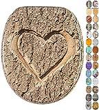 WC Sitz, viele schöne Holz WC Sitze zur Auswahl, hochwertige und stabile Qualität (True Love)