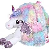 FunBlast Unicorn Soft Bag for Kids – School & Picnic Bag for Baby,Boys,Girls / Lightweight Travel School Mini Backpack for Ki