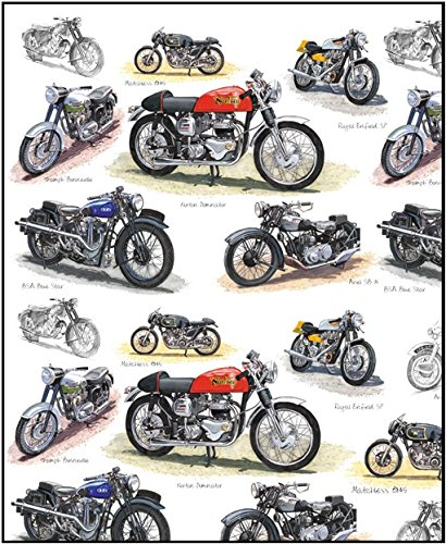 little-snoring-gifts-gift-wrap-single-70-x-50cm-sheet-motorcycle-design