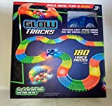 Glow Tracks 180 piece glow track and light speed racer