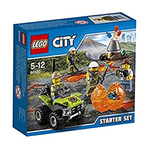 LEGO City 60120 - Set Costruzioni City Vulcano Starter Set Vulcano 5702015594813 LEGO