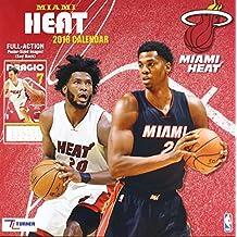 Miami Heat 2018 Calendar