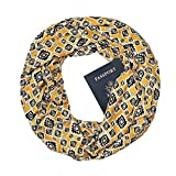 BaZhaHei Women Men Plaid Print Convertible Infinity Scarf Loop Zipper Pocket Scarves Storage Circle Scarf New Design Outdoor Magic Shawl Wrap