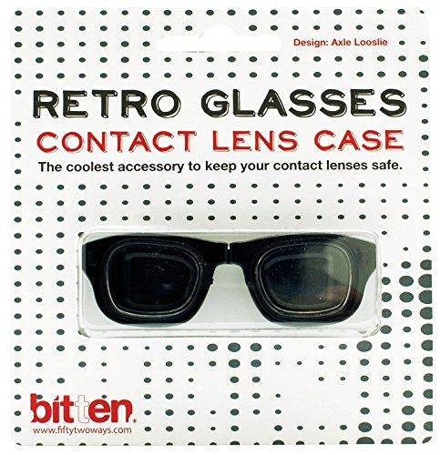 Brille Kontaktlinsenbehälter