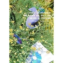 Cahier de Musique 96 pages 21x 29,7 cm Seyes & Portees: Interieur Seyes Grands Carreaux et Portees de Musique - Couverture Brillante Design 9