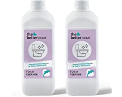 The Better Home Toilet Cleaner | Eco-Friendly, Non-Toxic,Non Corrosive | Baby Safe & Pet Safe | Skin Friendly | Pack of 2 (50