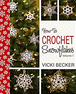 Crochet Stitches Amazon : ... crochet snowflakes using basic crochet stitches (Easy Crochet Patterns