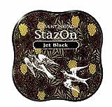 Stazon Midi Pad, Jet Schwarz jet black
