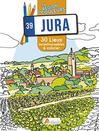 Jura : 30 lieux incontournables à colorier