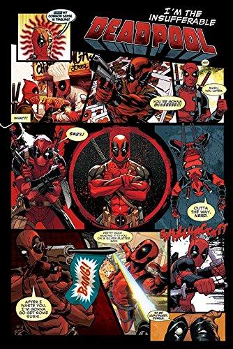 """Deadpool """"pannelli"""" Maxi Poster, multicolore"""