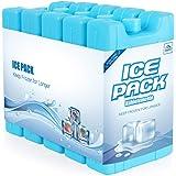 Anstore 5er-Set Kühlakku, 5 x 350g Kühlelementen für die Kühltasche oder Kühlbox bei Outdooraktivitäten oder Campingausflügen