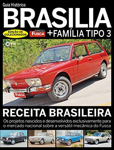 Fusca & Cia. Especial 04 – Guia Histórico Brasília (Portuguese Edition) por On Line Editora