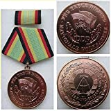 Unbekannt NVA Verdienstorden  Für treue Dienste  in Bronze mit Blanko Urkunde, SED,Volksarmee,