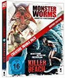 DVD Cover 'Creature Double Pack - WORMS Edition: Killer Beach & Monster Worms [Blu-ray] (2-Disc Set)