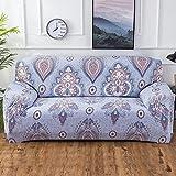 SSDLRSF Geometrische Bunte Druck Sofa Abdeckung Elastische Hussen Anti-schmutzige Couch Abdeckung Sofa Funiture Abdeckung Handtuch Alle Wrap (90-300 cm), Farbe 13,1seater 90-140 cm