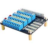 GeeekPi Raspberry Pi 4 GPIO Módulo de desmontaje de bloque de terminales, Raspberry Pi GPIO de expansión para Raspberry Pi 4B