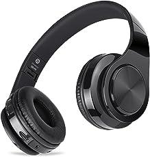 Cuffie Wireless Bluetooth con Cancellazione del Rumore e Microfono Incorporato, Meihua Tu Auricolare Bluetooth con Stereo Hi-Fi Ricaricabile per iPhone X/8/7/6S, iPad, Samsung, PC, TV, PS4 e Computer
