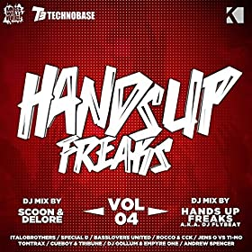 Various Artists-Hands Up Freaks, Vol. 4