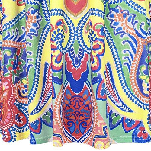 Damen Bandeaukleider Maxikleid Kleid Trägerlos Ethno-Style Ärmellos Trägerlos Die Neue Blumenmuster Stitching Einteiler Fashion 2017 Weiß