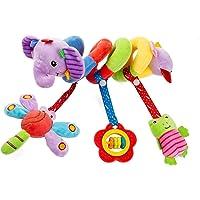 Culla a Spirale Giocattoli per Passeggini, Giocattolo per Seggiolino Spirale, Giocattoli per Carrozzina per Bambini, per…