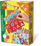 SES Creative - Aprendo a perforar, kit de juego, multicolor (14836)