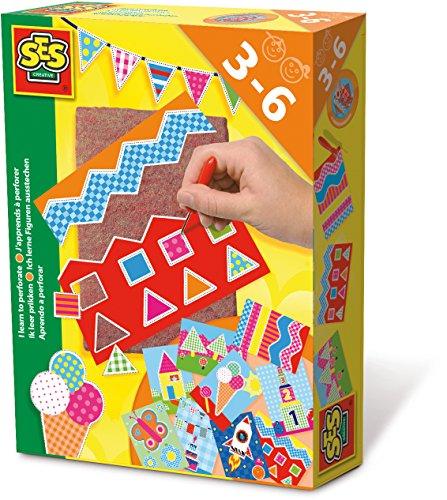 ses-creative-aprendo-a-perforar-kit-de-juego-multicolor-14836