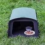 nestbox co eco hedgehog feeding station Nestbox Co Eco Hedgehog Feeding Station 61Gsfb4z eL