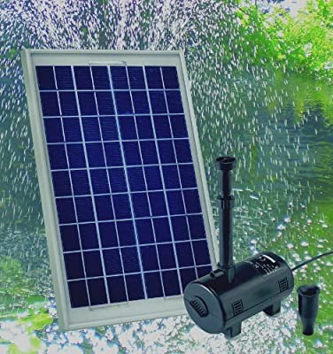 Beckmann SXU Solar-Teichpumpenset 10 Watt, 600 I/h von Beckmann bei Lampenhans.de