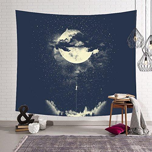 Tapiz Pared de Creativo, Morbuy Decoración Tapices Estilo Cielo Estrellado Impreso Tapicería...
