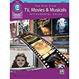 TOP HITS FROM TV MOVIES + MUSICALS - arrangiert für Querflöte - mit CD [Noten/Sheetmusic] aus der Reihe: INSTRUMENTAL SOLOS