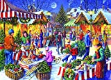 Gibsons Christmas Fayre Jigsaw Puzzle (1000-Pieces)