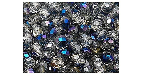 Pcs Czech Crystal Opaque Glass Faceted Rondelle Beads 6 x 8mm Pale Blue 70