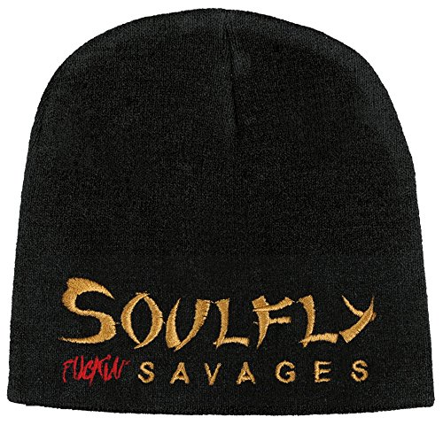 NB Soulfly - Fuckin Savages Logo - Beanie/Mütze