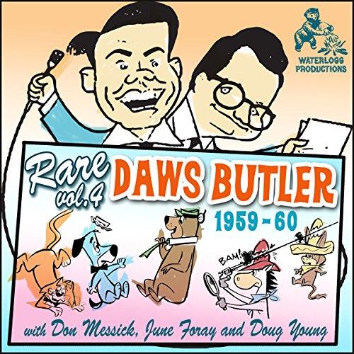 Rare Daws Butler, Vol. 4  Audiolibri
