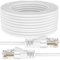 FEDUS High Speed 50M 164 Feet F/UTP RJ45 cat6 Ethernet Patch LAN Internet Network Computer Gigabit Category 6 F/UTP Wire…